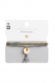 Brass paillette and tassel Rafiki - education
