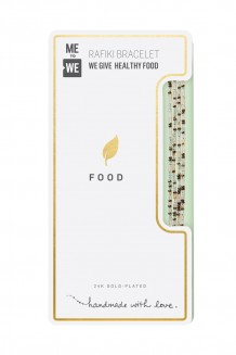 24K tonal Rafiki bracelet – food