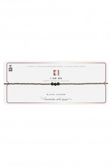 Semiprecious collection – choker – black jasper