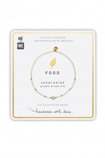Semiprecious collection – single-strand Rafiki bracelet – aventurine