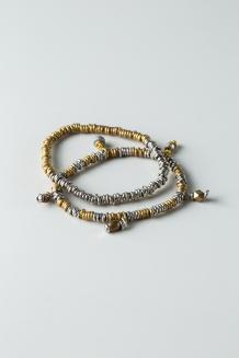 Waya Bracelet - Silver & Gold - Silver & Gold