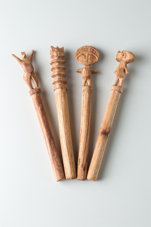 Dawa Sticks - TO Carved Handles