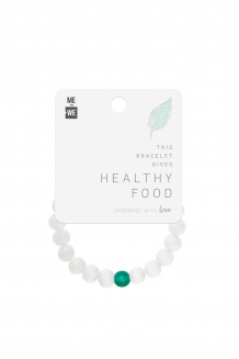 Imani Bracelet - Food - White
