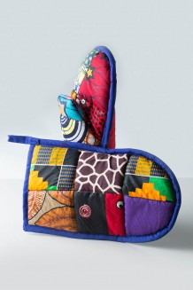Patchwork Oven Mitts