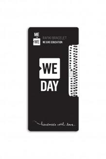 WE Day Rafiki Bracelet