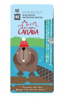Canadian Cute Critters Rafiki Bracelet – Beaver
