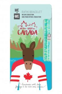 Canadian Cute Critters Rafiki Bracelet – Moose