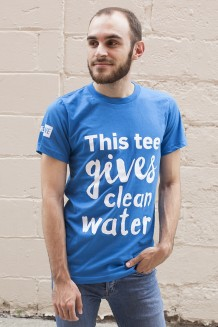 WE Give Clean Water T-Shirt