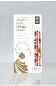 Mama Toti Rafiki Bracelet - Red & Gold  Thumbnail