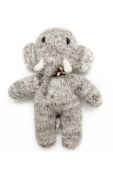 Kenana Knitters - wool - elephant (small) Thumbnail