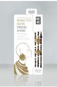 Mama Toti Rafiki Bracelet - Black & Gold Thumbnail