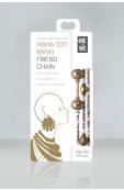 Mama Toti Rafiki Bracelet - Purple & Gold Thumbnail