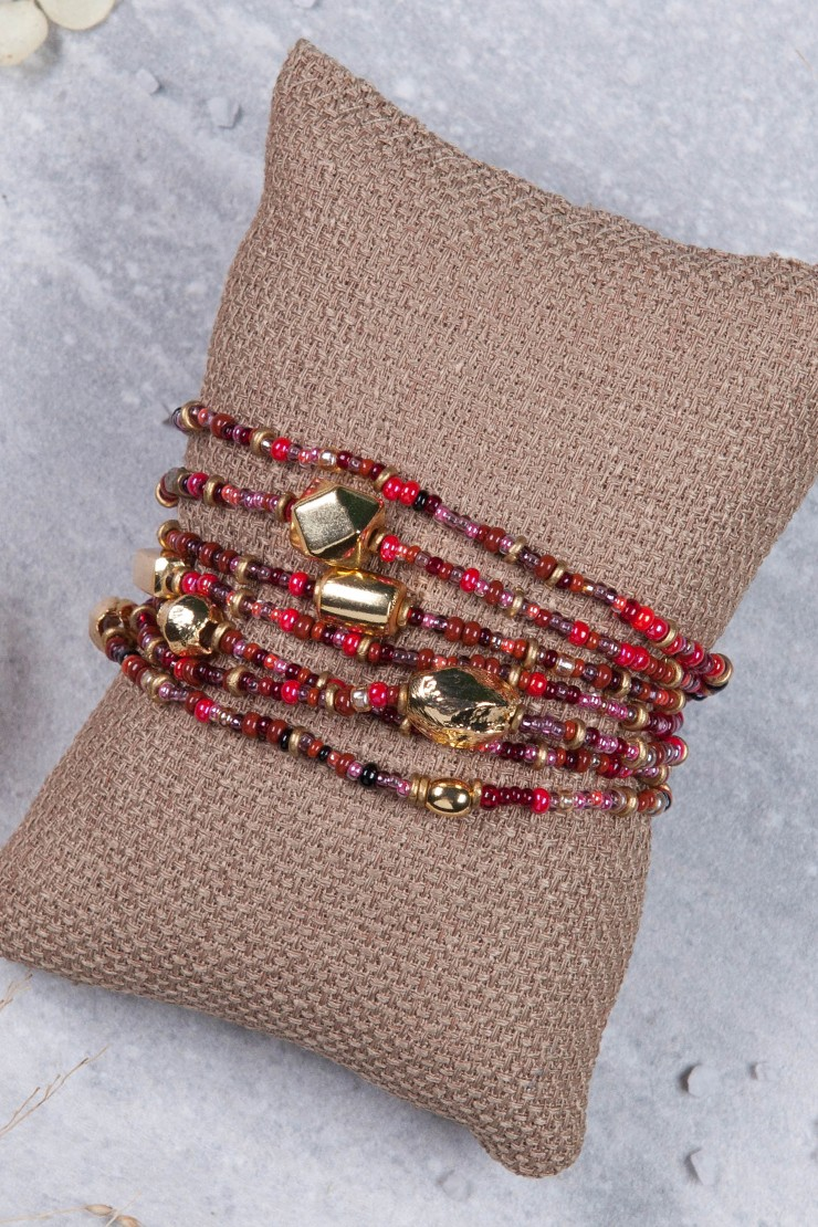 off sale pin red and day mother bracelet bracelets s gold memory
