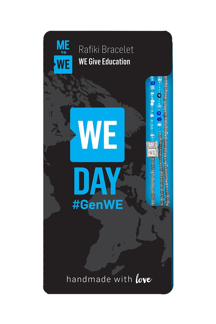 WE Day Rafiki bracelet #GenWE