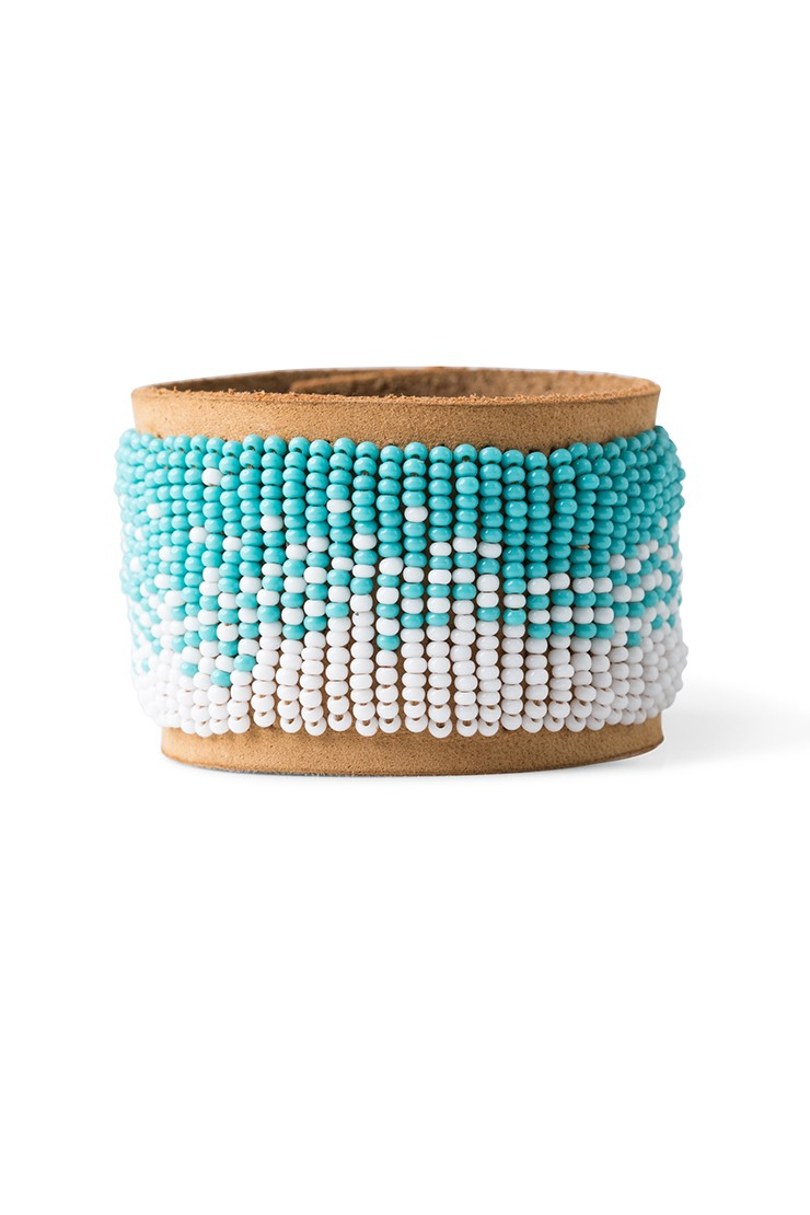Anga bracelet – teal