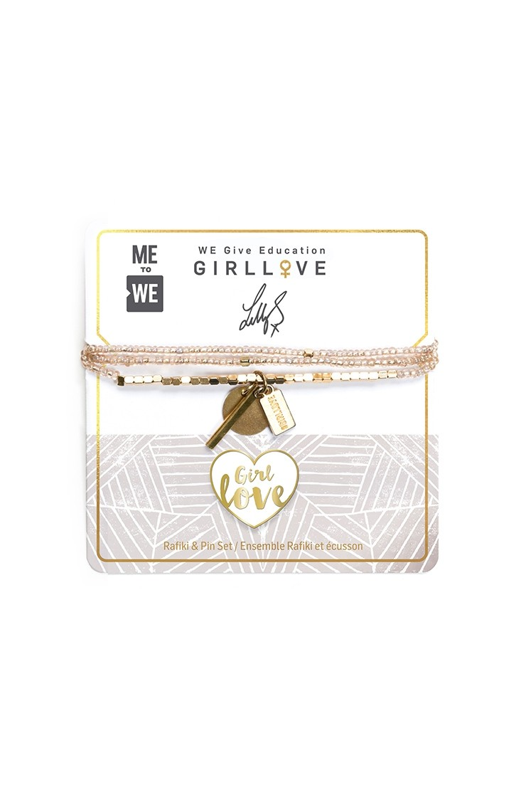 #Girllove Rafiki 2.0 + Pin Set
