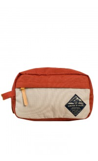 United By Blue - Crest travel case - rust