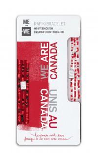 WE are Canada Rafiki Bracelet Set of 2 – Share & Pair