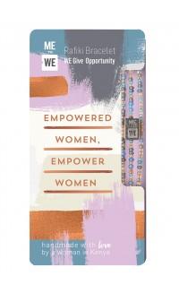 Opportunity Rafiki bracelet - empowered women