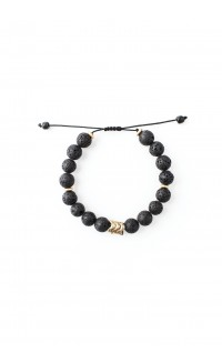 Ujasiri bracelet - black