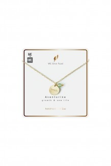 Intention series necklace - Aventurine - growth