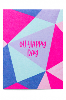Occasion card - oh happy day