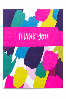 Occasion card - thank you