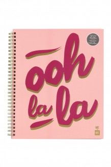 Coil Notebook - Pink - Ooh La La