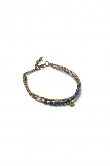 Bahari Two-Strand Bracelet - Blue