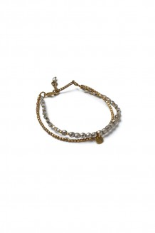 Bahari Two-Strand Bracelet - Gray