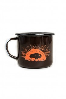 United By Blue - Born to Roam enamel mug