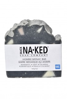 Buck Naked soap - jasmine mosaic