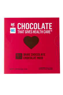 ME to WE Chocolate That Gives Health Care™ – dark chocolate