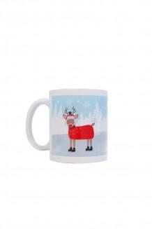 Holiday mug - dashing through the snow