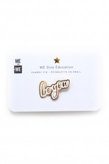 Intention enamel pin - be you