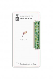 Elevated Impact Rafiki bracelet - food - Food