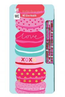Health & wellness Rafiki bracelet - love & sweet treats