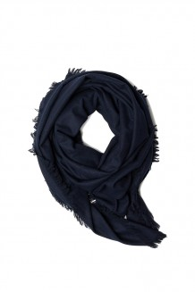 United By Blue – Highlands Blanket Scarf - Navy - Navy