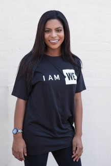 I am WE T-Shirt   - Black