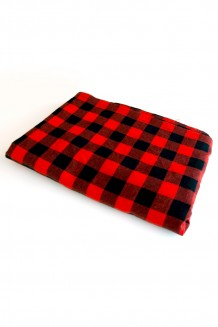 Shuka - Red & Black Checkered
