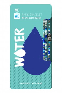 Make an Impact Rafiki bracelet - water