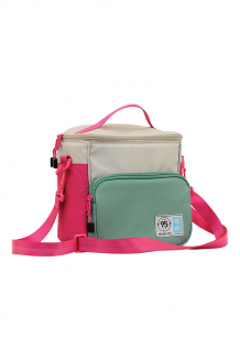 Lunch Bag - Pink and Green - Pink and Green