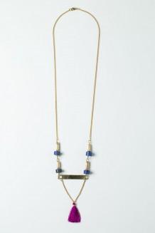 Kijiometri Necklace - Blue