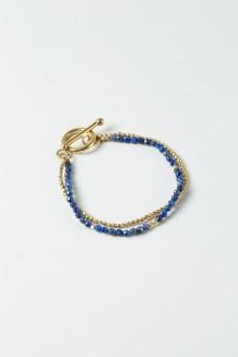 Lazuli Faceted Bracelet - Lapis