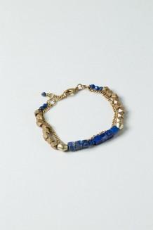 Lazuli Infinity Bracelet - Lapis