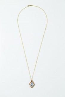 Beaded Almasi Necklace - Pastel