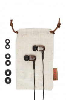 LSTN – Bowery Real Wood Earbuds - Ebony