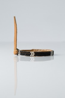 Trio Talengo Bracelet - Black and White