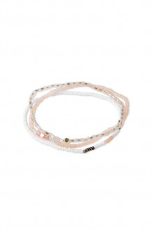 Triple bracelet set – blush