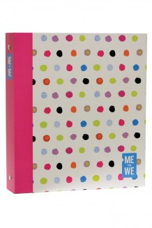 Casemade Binder - Pink and Green - Pink and Green